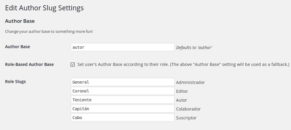 cambiar author base por roles