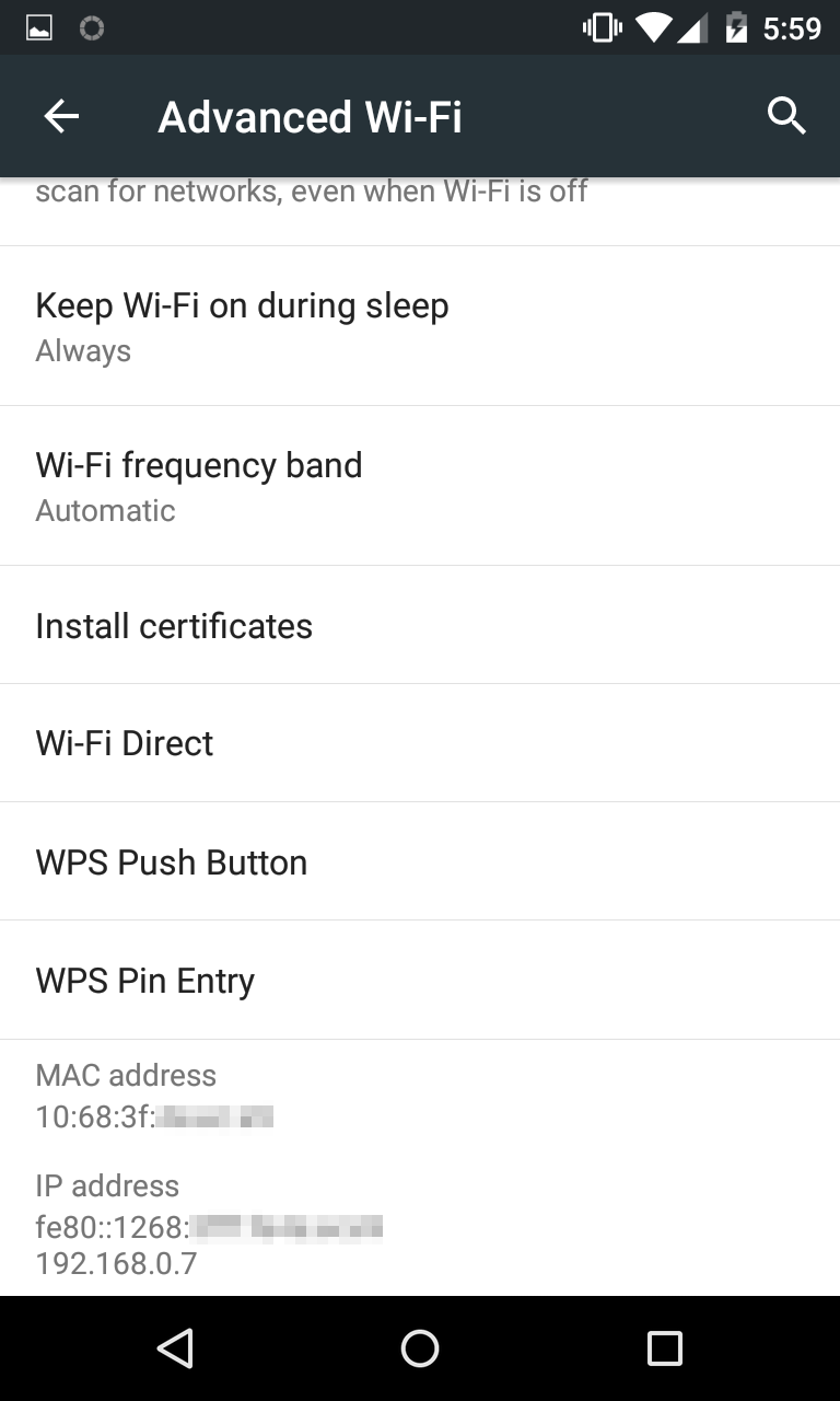 Metodo 1 Conocer IP Android